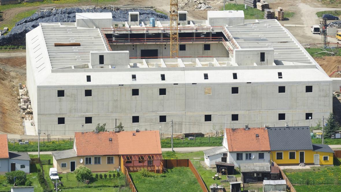 Betonový komplex v Ptyči