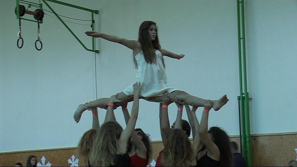Artistické vystoupení taneční skupiny