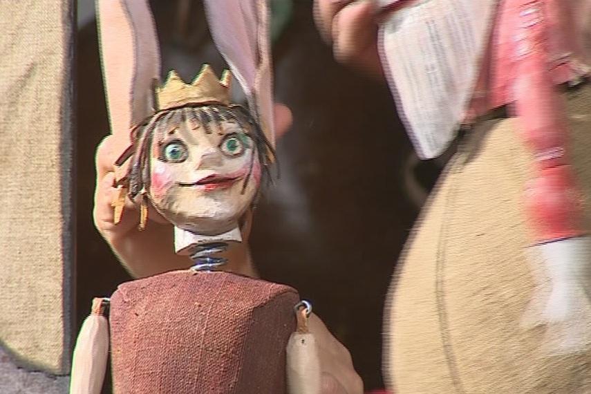 Ušatá pohádka v divadle Radost