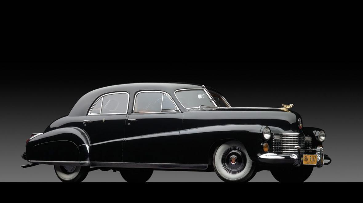 Cadillac z roku 1941, který patřil vévodovi a vévodkyni z Windsoru
