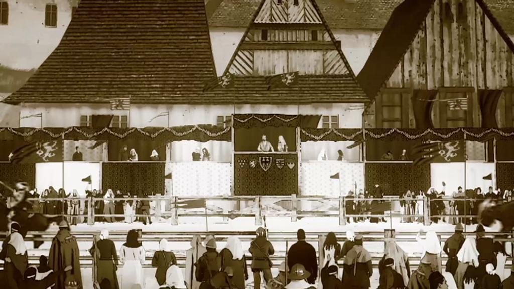 Malostranské náměstí jako místo rytířských zápasů za doby Karla IV.