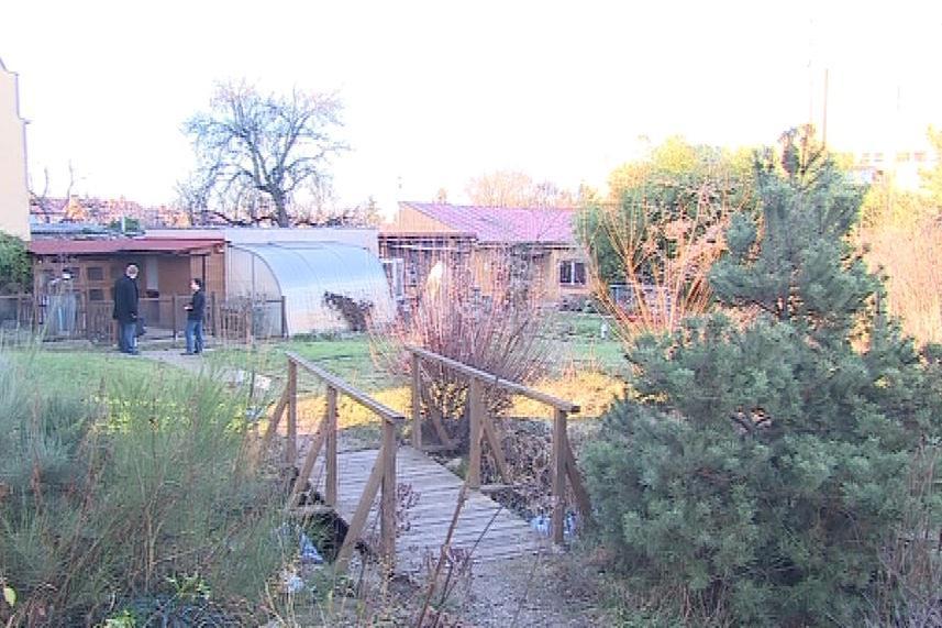 Zahrada prošla nedávno rekonstrukcí