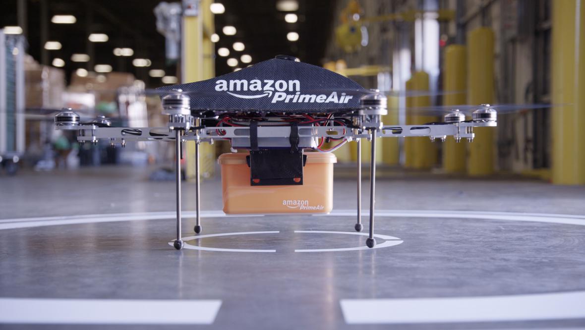 Bezpilotní letadýlko Amazonu