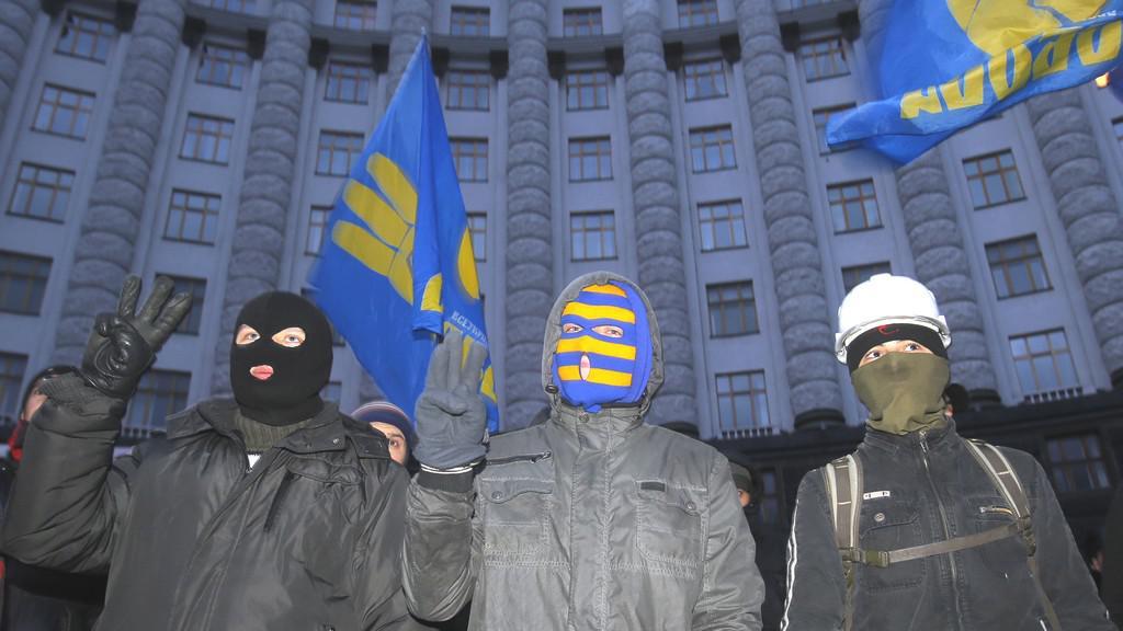 Ukrajinská demonstrace