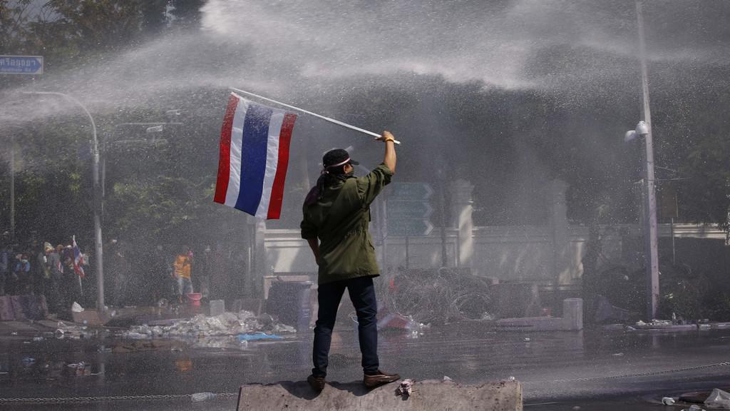 Protesty v Bangkoku