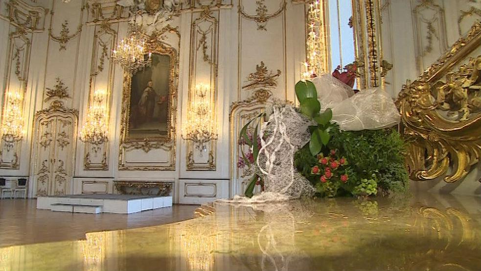 Interiér kroměřížského zámku je dodnes stejný jako v roce 1983