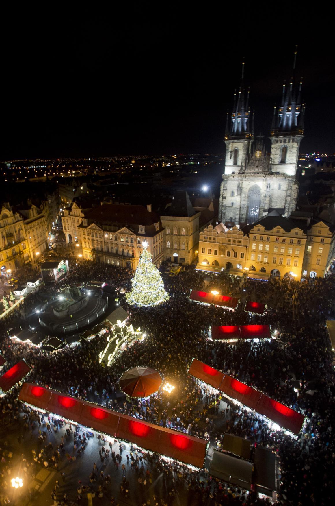 Loňské trhy na Staroměstském náměstí v Praze