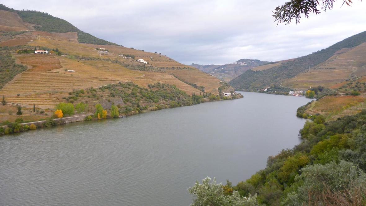 Vinicemi poseté údolí řeky Douro