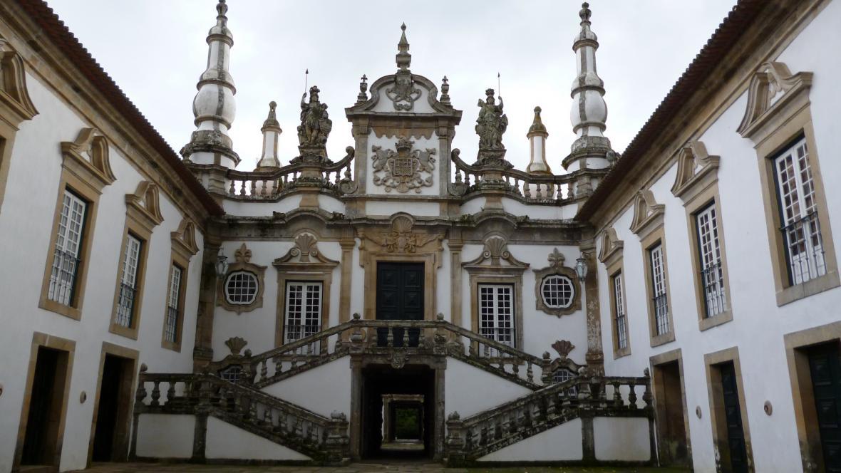 Průčelí Casa de Mateus