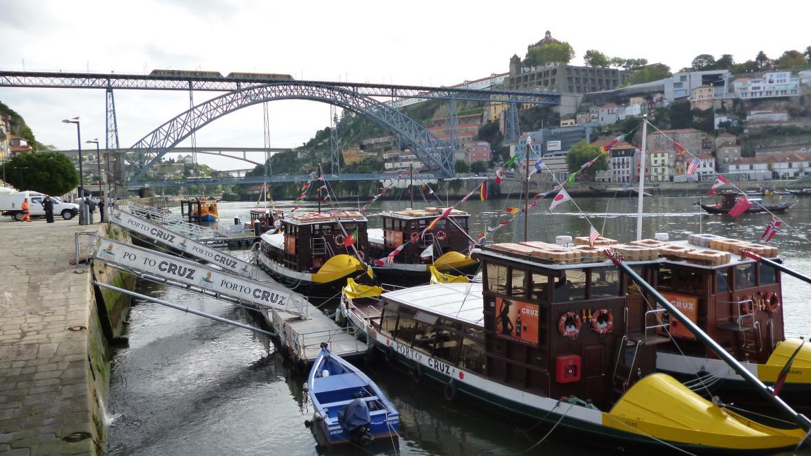Nábřeží v Portu