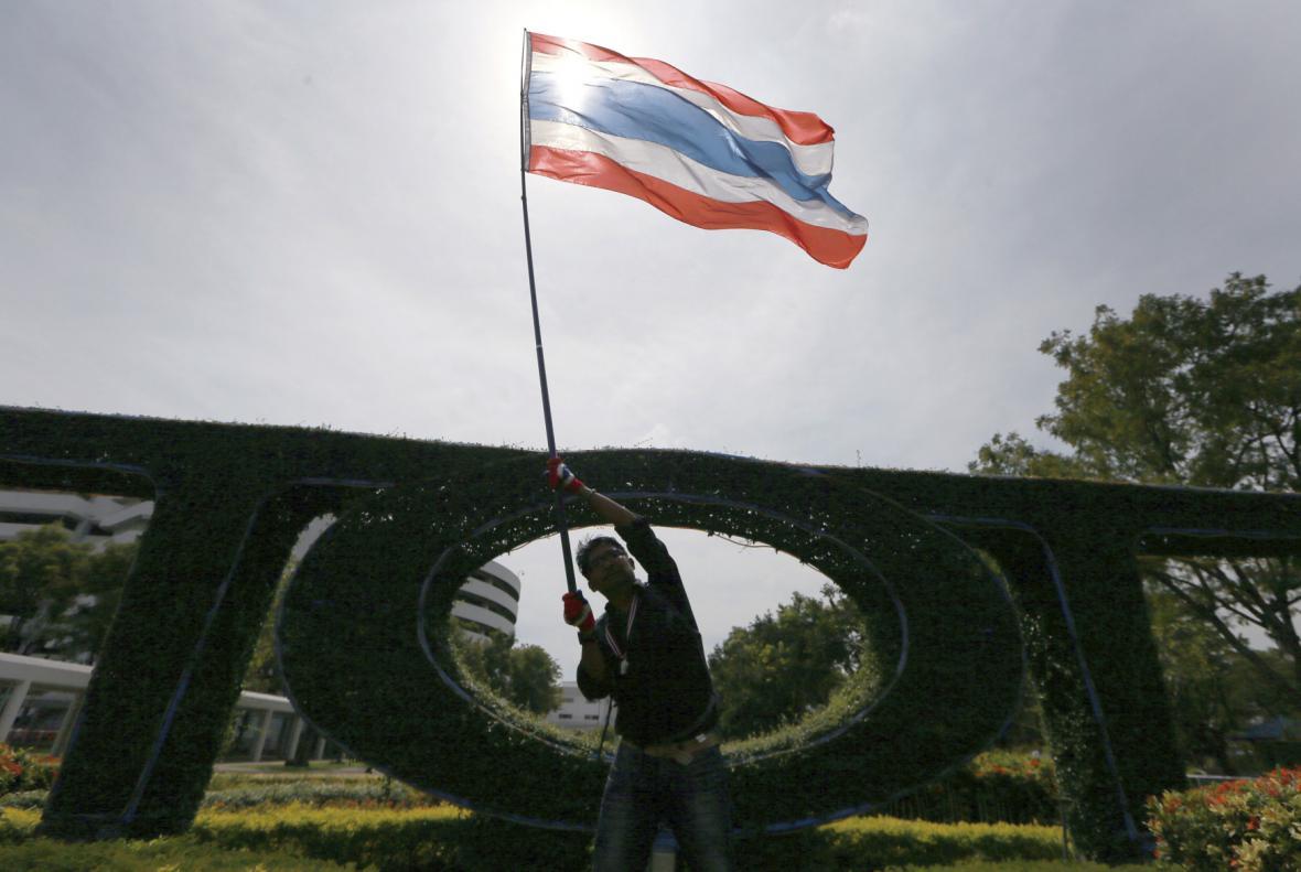 Thajské demonstrace