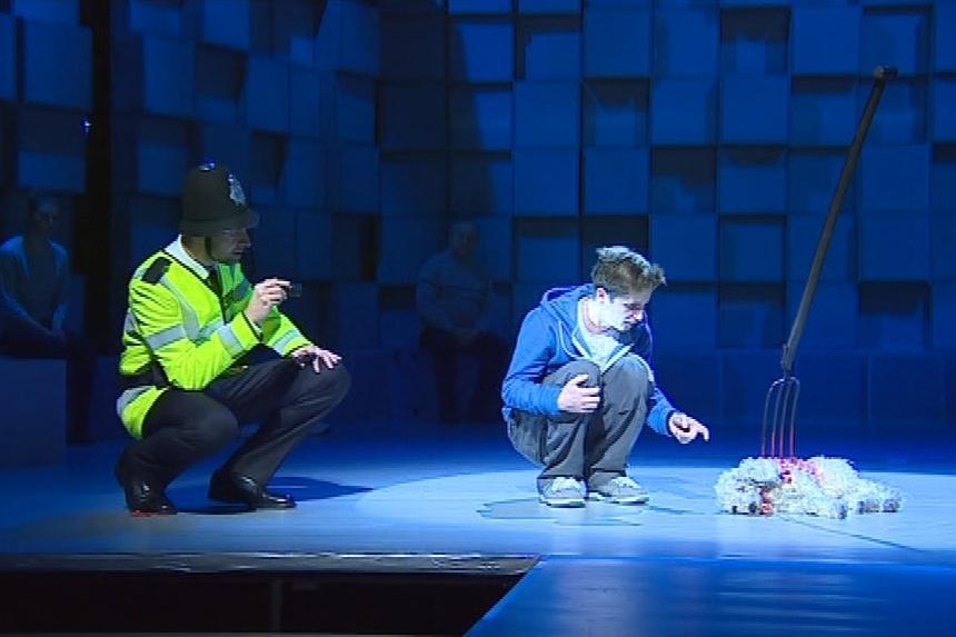Divadelní představení Podivný případ se psem