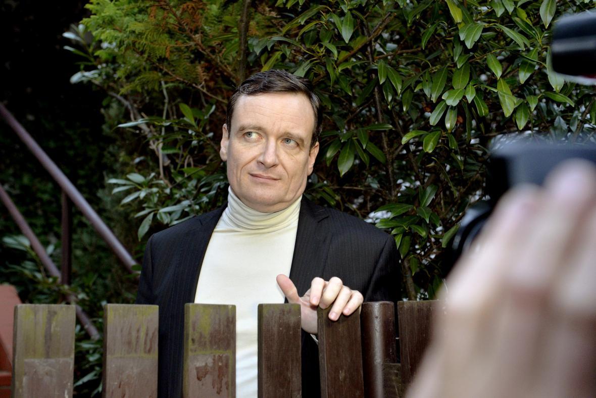 David Rath po propuštění z vazby