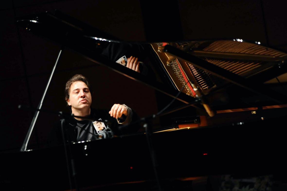 Turecký klavírista Fazil Say
