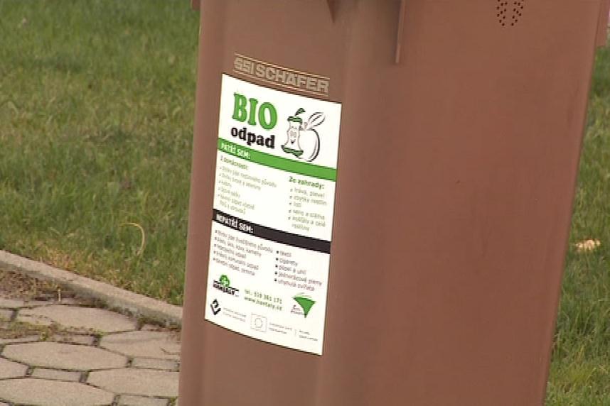 Hnědé popelnice na bio odpad