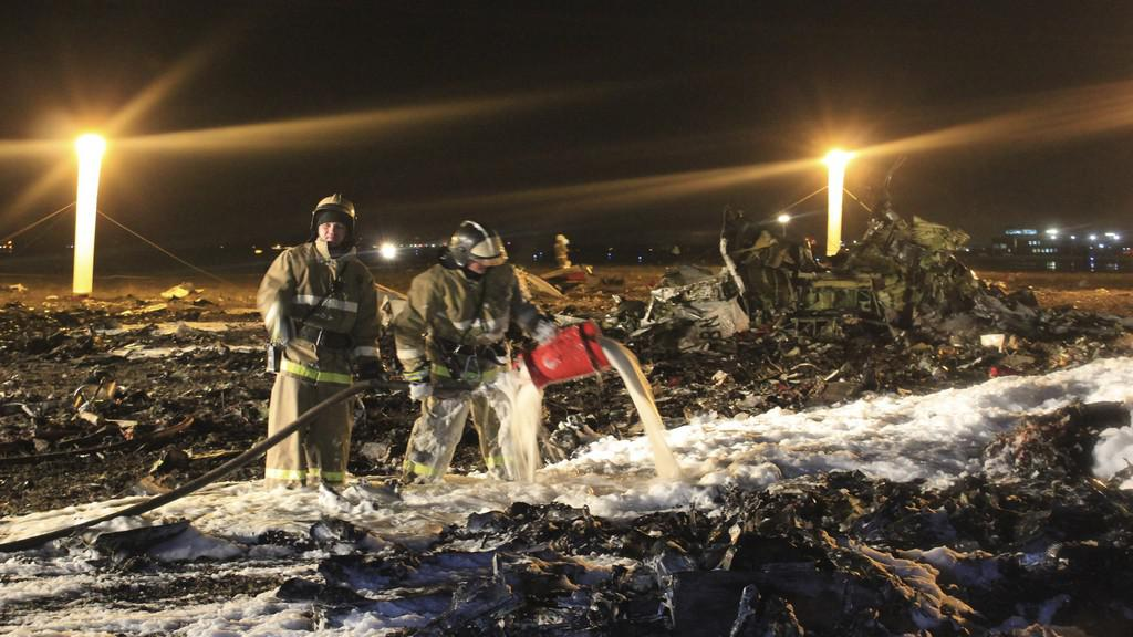 Nehoda letadla u Kazaně