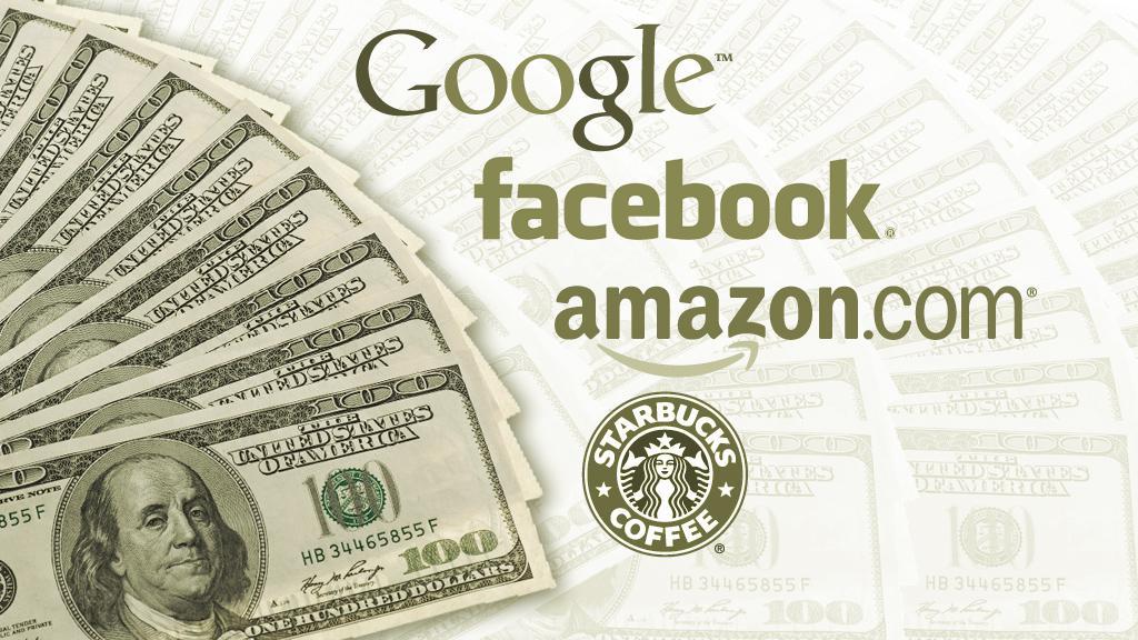 Velké firmy a daně