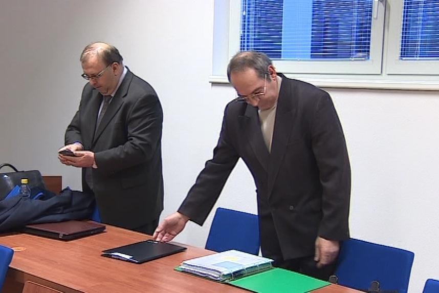 Soudní znalec Miloš Štěrba (vpravo)