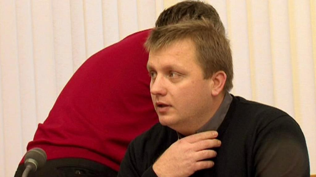 Pavel Domša u soudu