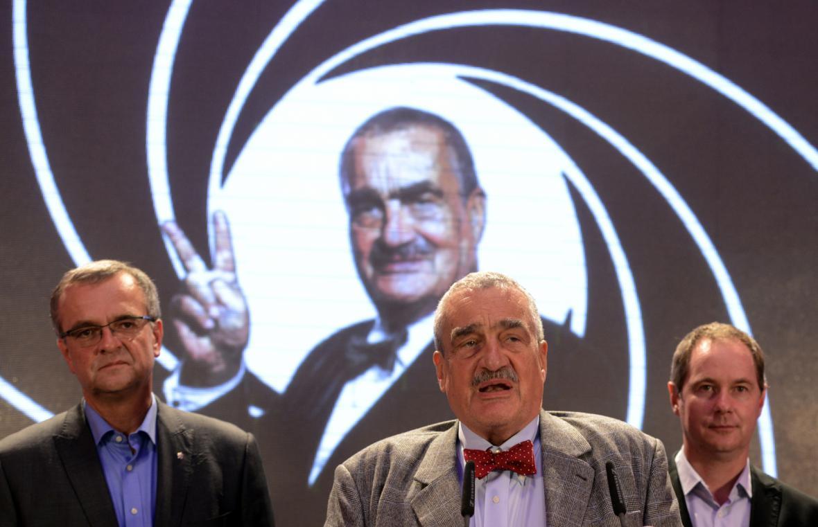Miroslav Kalousek, Karel Schwarzenberg, Petr Gazdík