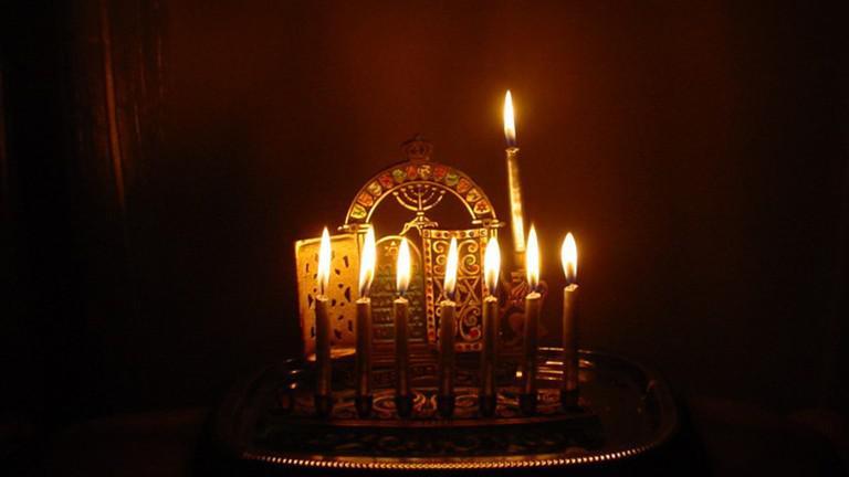 Chanukový svícen