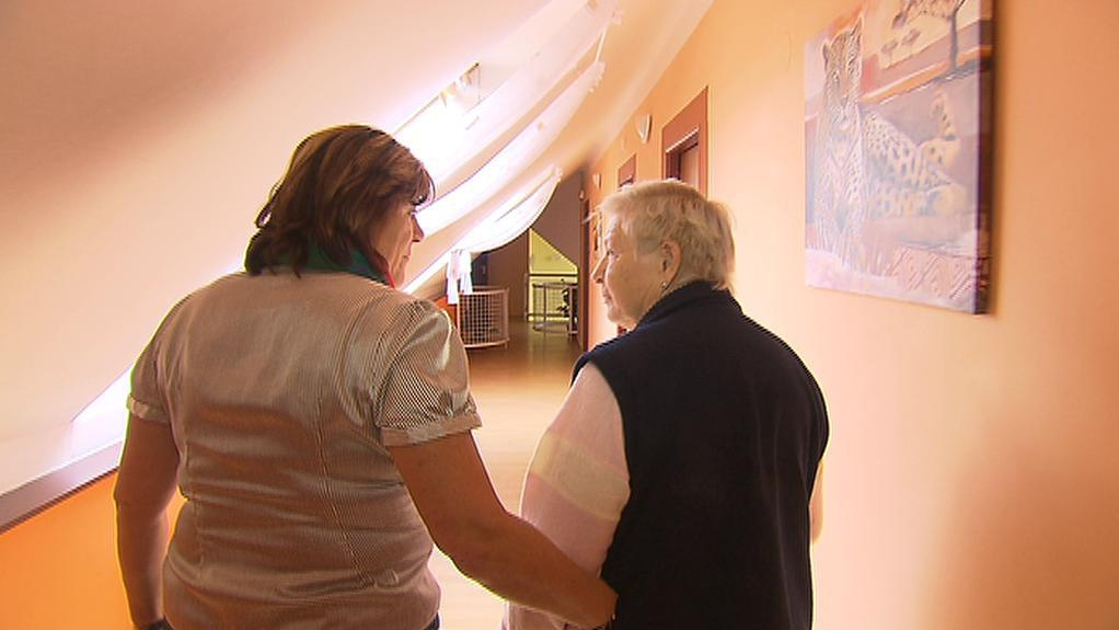 Pacientka Alzheimercentra