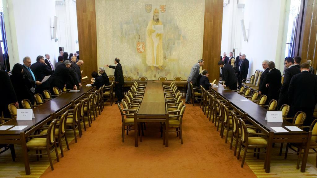 Volba předsedy poslanecké sněmovny