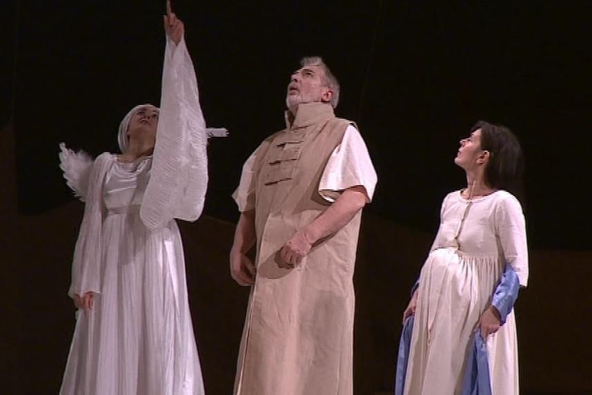 Představení Betlémská hvězda v Národním divadle Brno