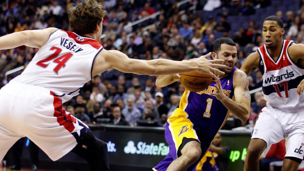Utkání Washington - LA Lakers