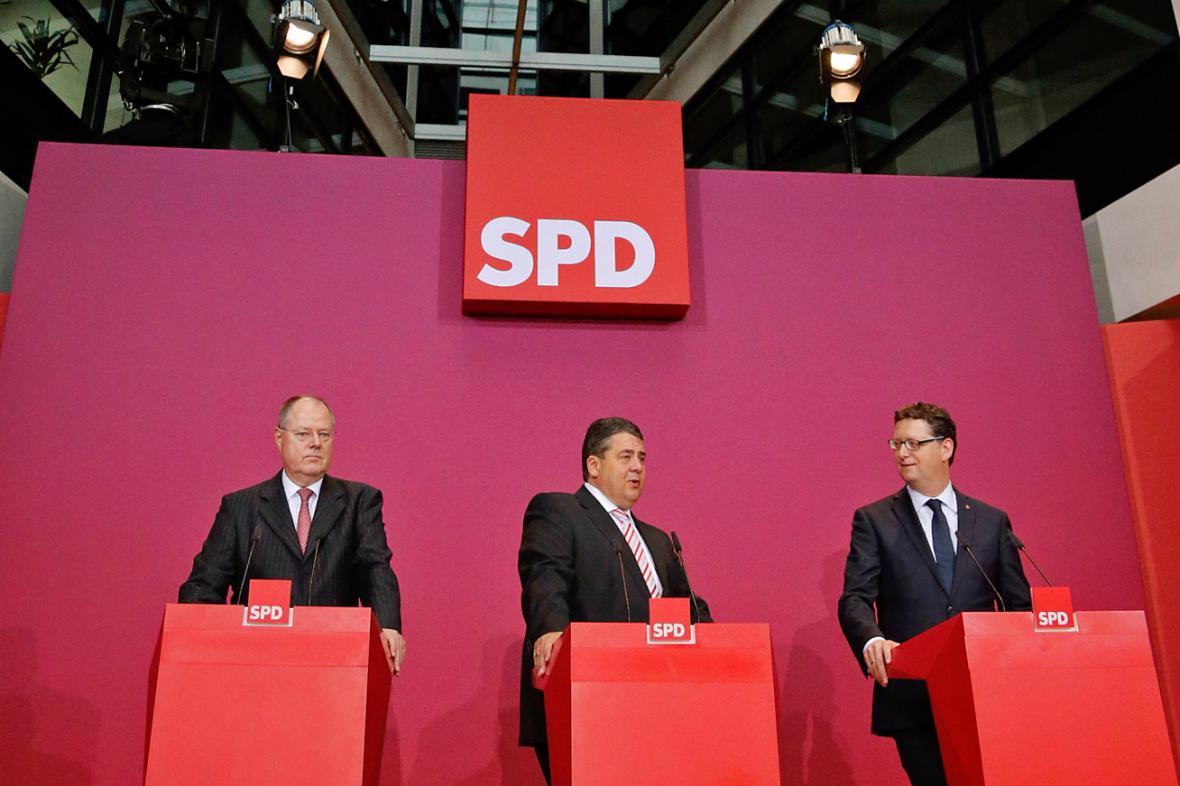 Špičky německé SPD