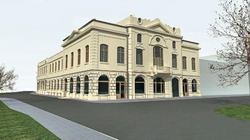 Národní dům v Bohumíně - vizualizace