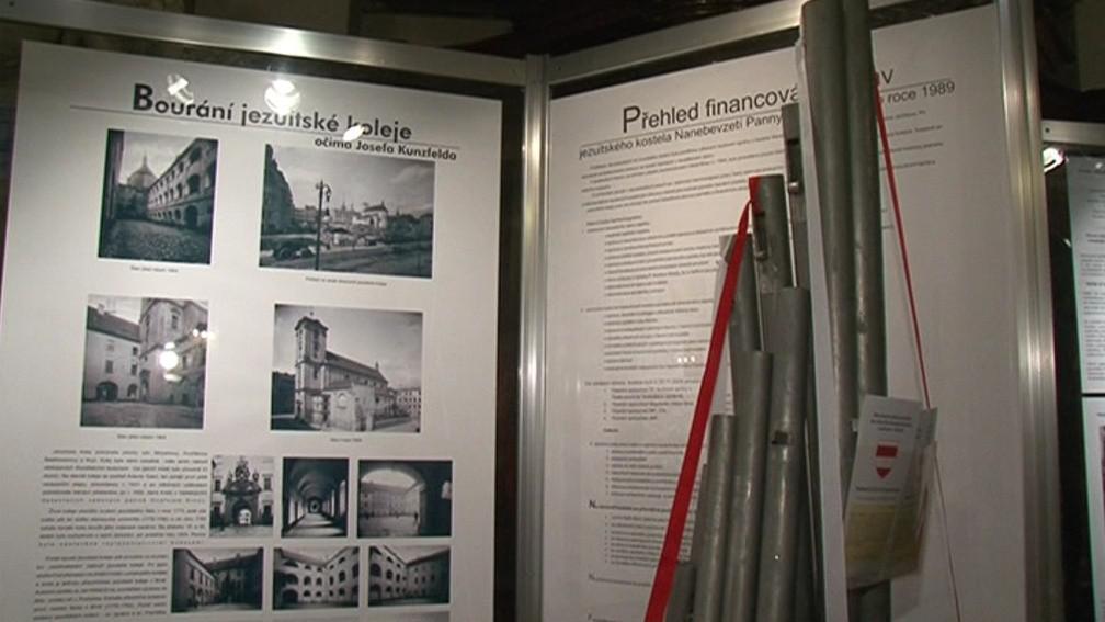 Jezuitské varhany poškodilo bombardování z konce druhé světové války