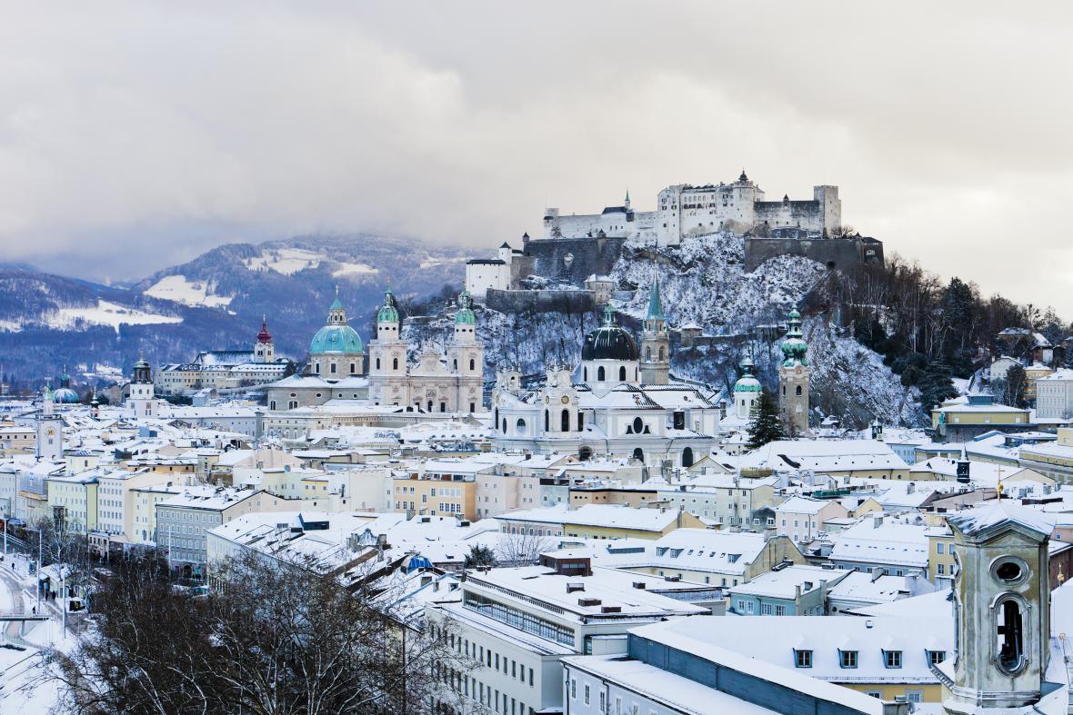Salzburg - zpěv koled a vánoční trhy, je to perfektní místo pro vánoční prázdniny