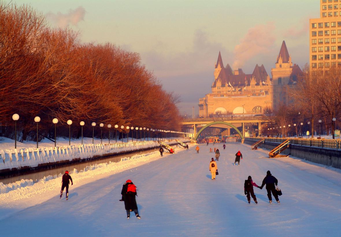 Ottawa, Kanada – zdejší zimní festival je jeden z největších na světě