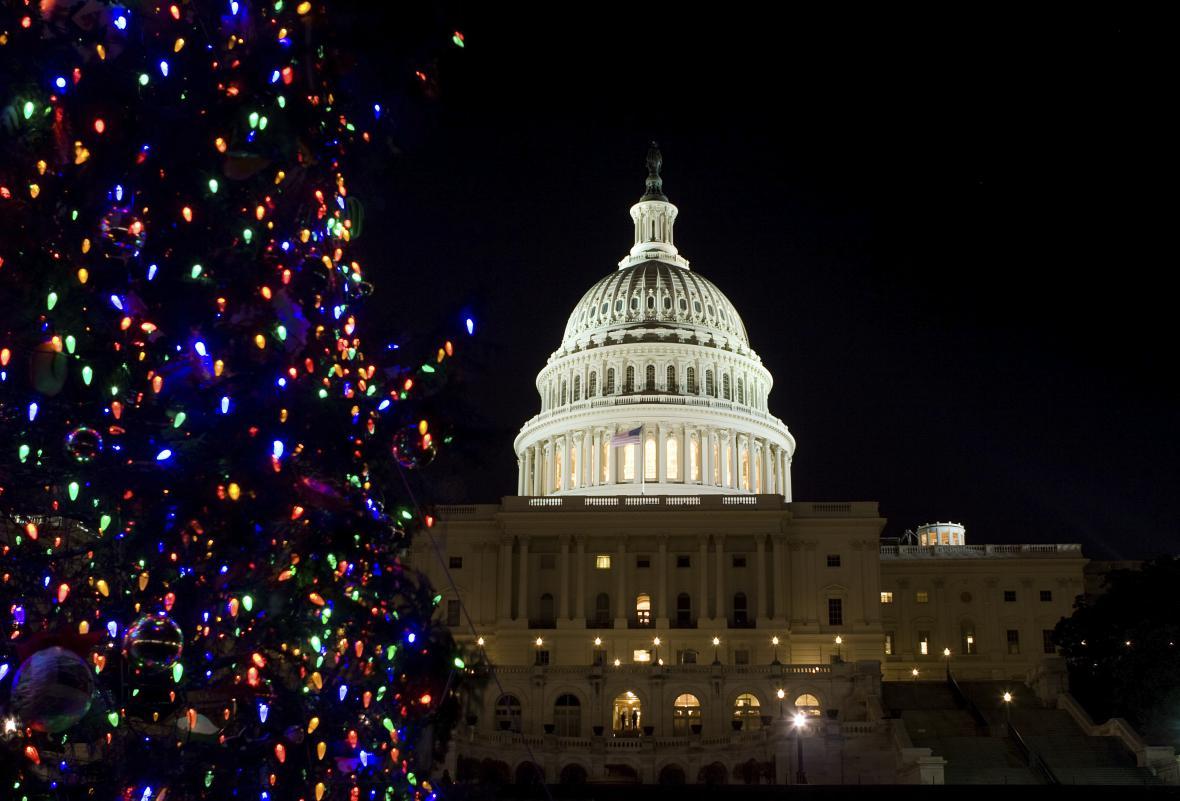 Washington D.C. – neměli byste propásnout rozsvícení  vánočního stromu