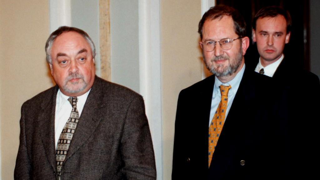 Egon Lánský s Karlem Kovandou
