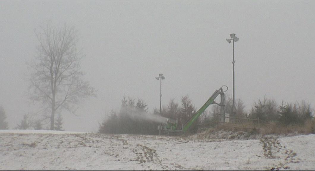 Sněžná děla se už rozjela i na Bílé v Beskydech