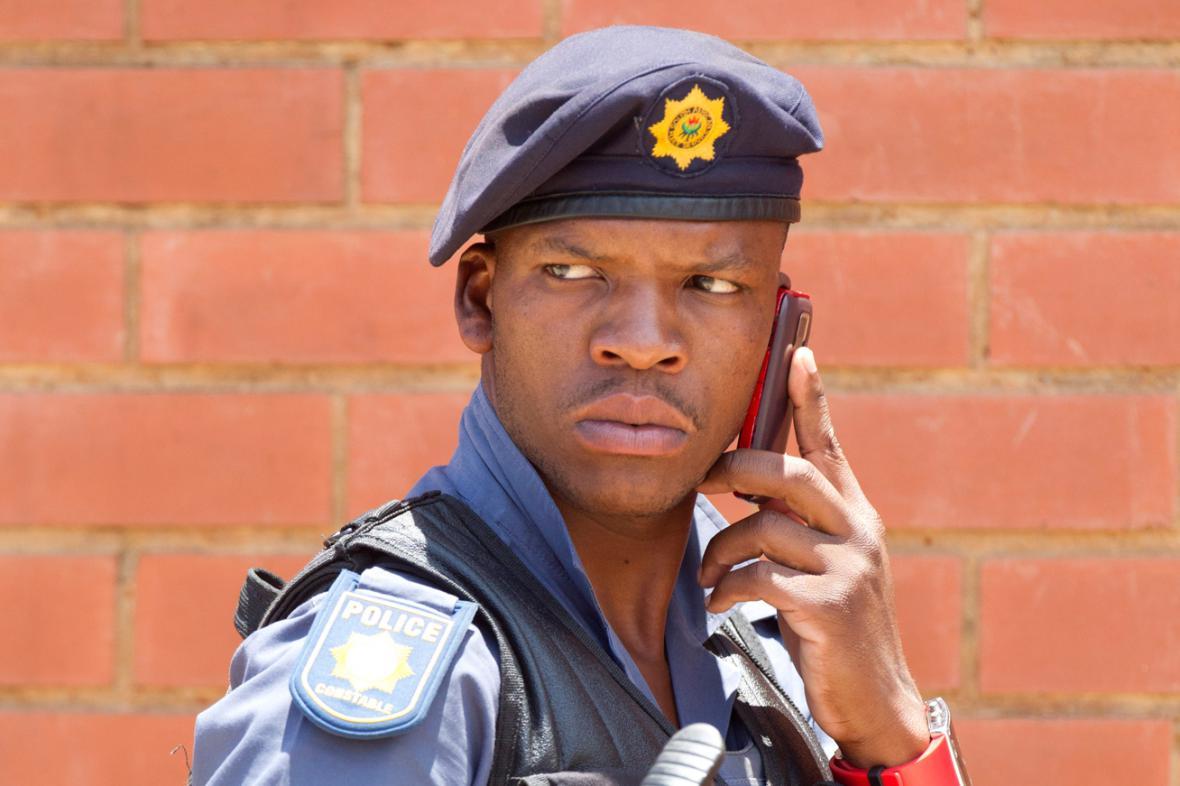 Jihoafrický policista
