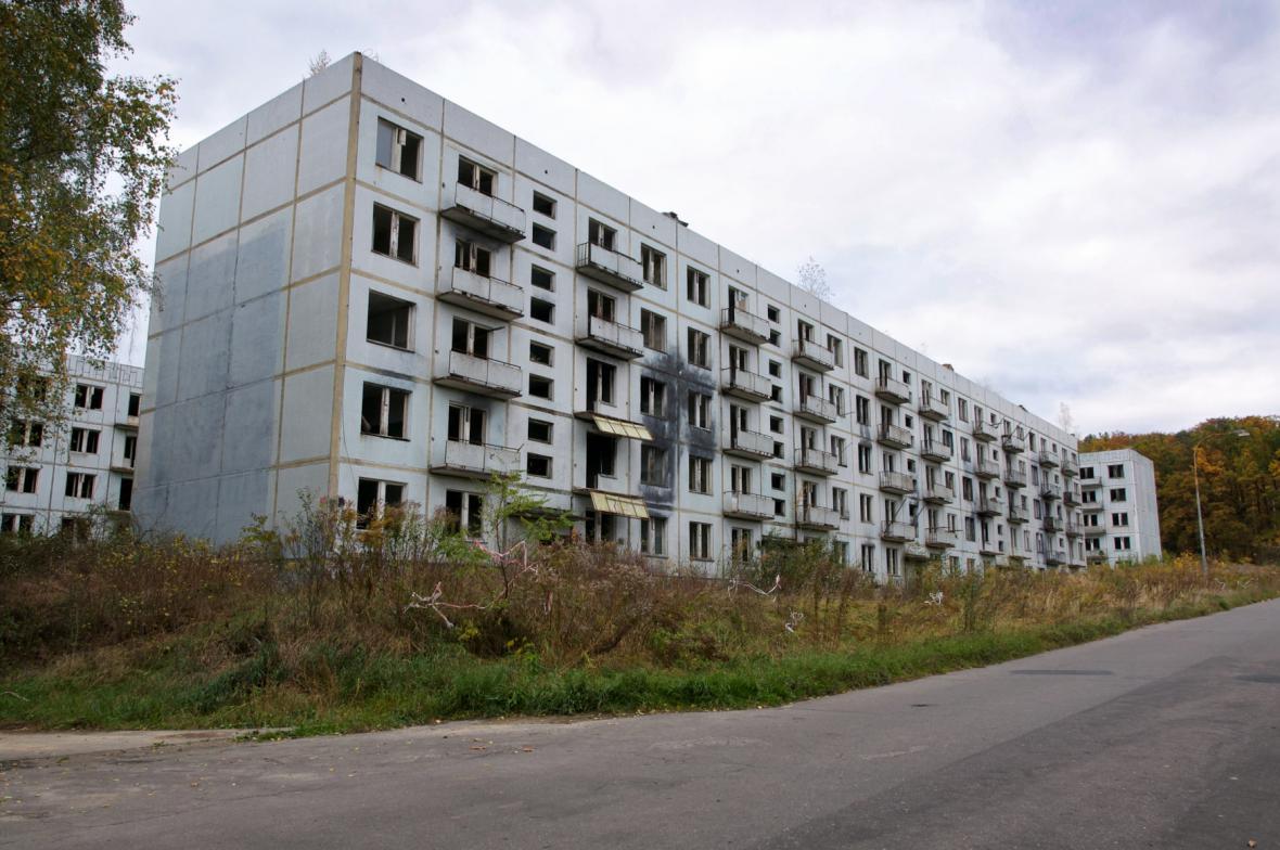 Opuštěné domy v Milovicích