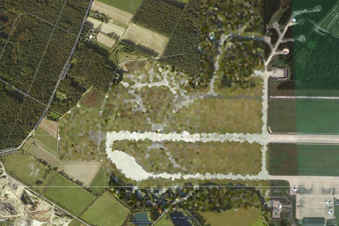 Letecká základna v německém Geilenkirchenu
