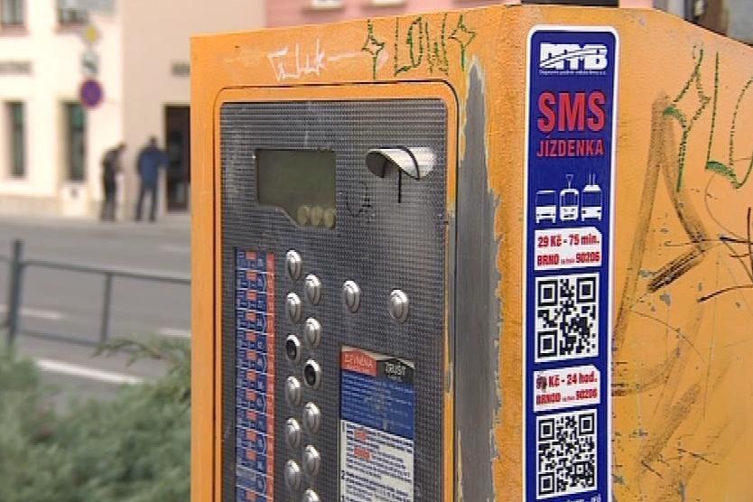 Automat a sms jízdenka