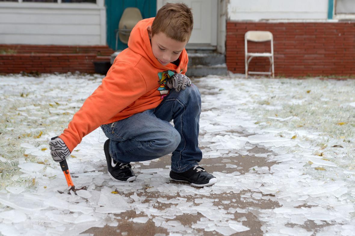 Jihozápad USA zasáhla sněhová bouře