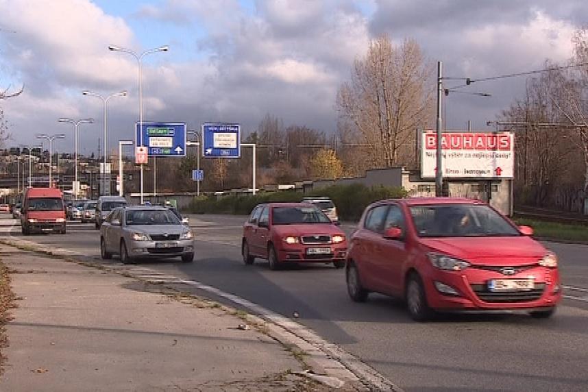 Žabovřesky odvádí dopravu z centra města