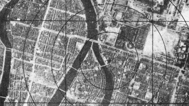 Nagasaki před výbuchem (1945)