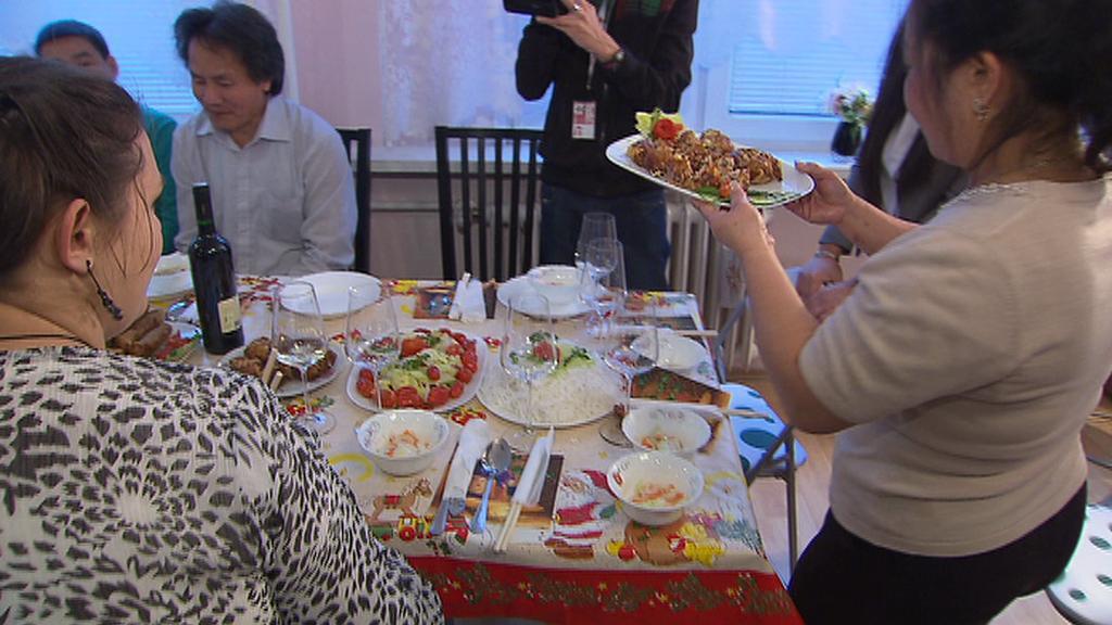 Vietnamská rodina hostí českou rodinu
