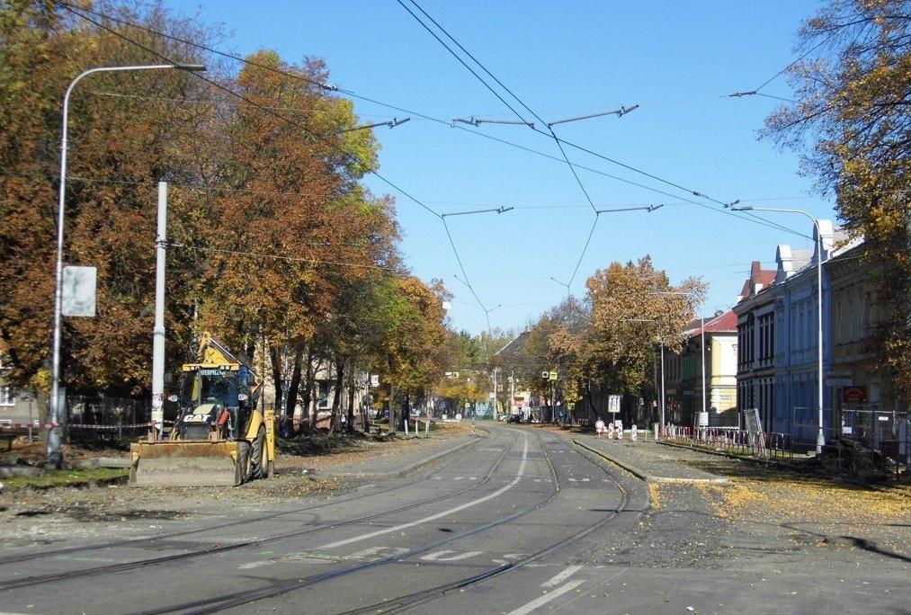 Rekonstrukce zastávky Křižíkova