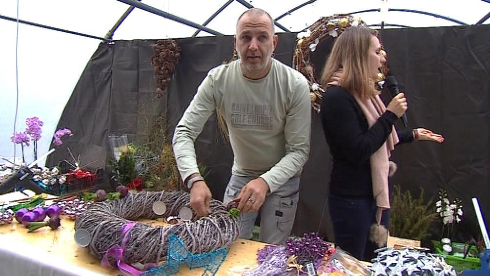 Holandský florista Peter Manders zavítal do Šebrova