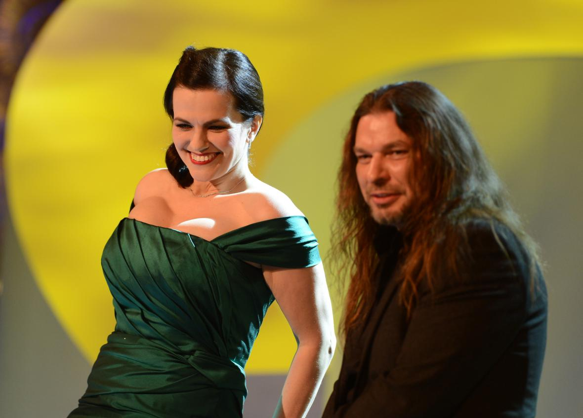Marta Jandová a Petr Kolář při společném vystoupení