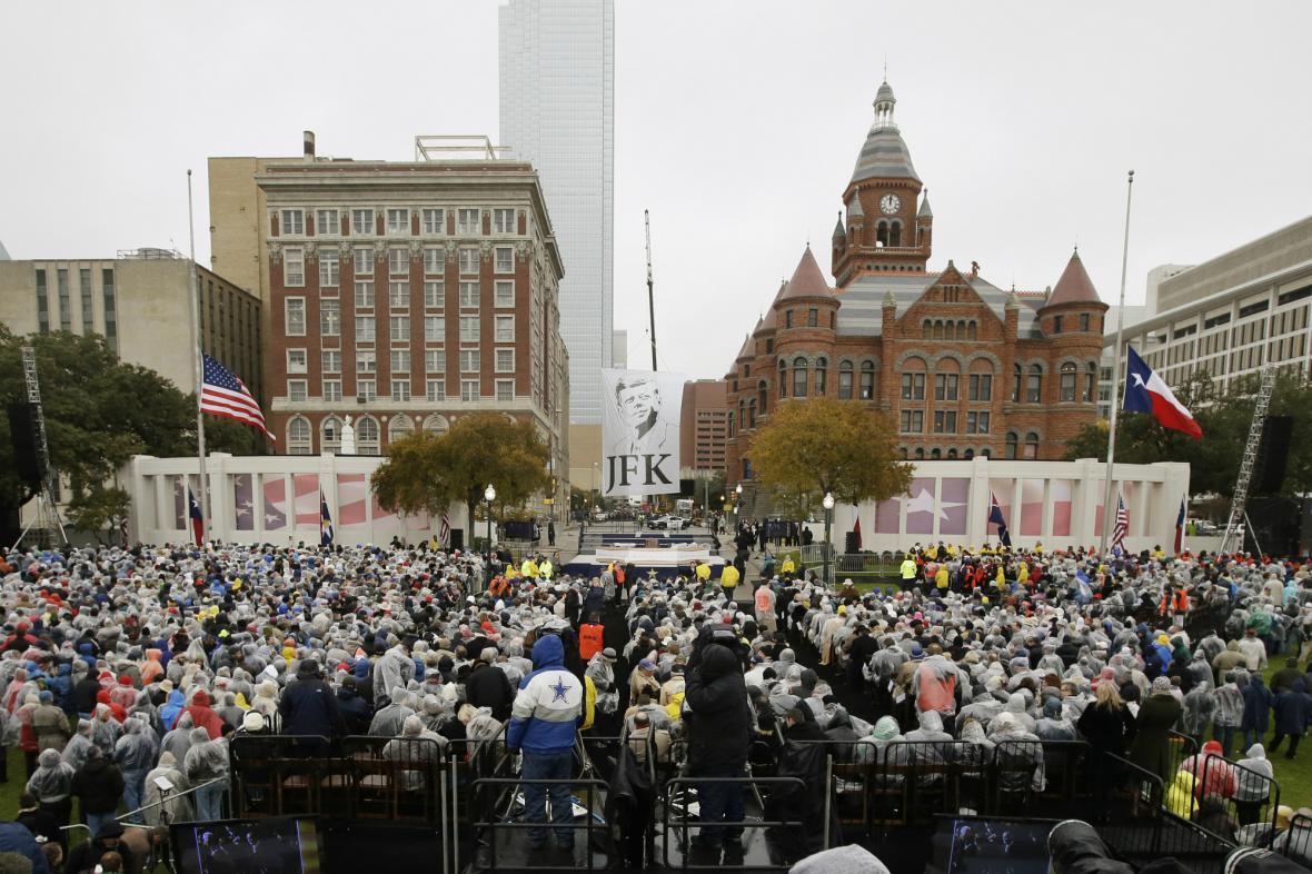 Dallas si připomněl 50 let od atentátu na JFK