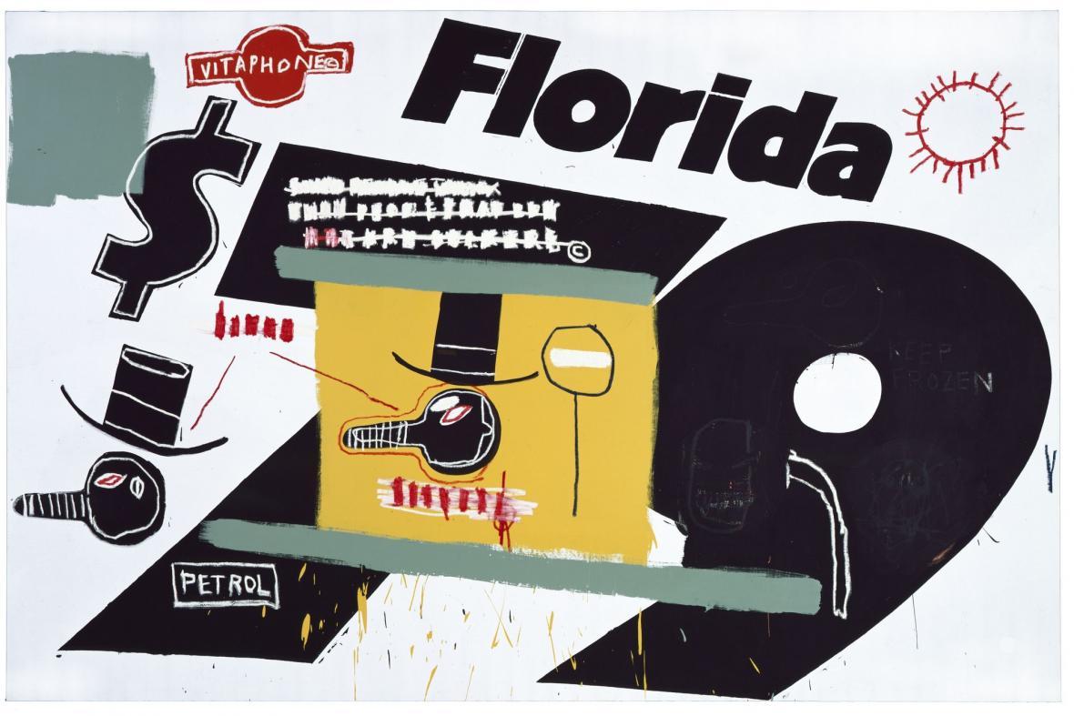Andy Warhol, Jean-Michel Basquiat / Florida, 1984
